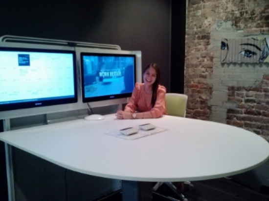 Aside from my intern desk, the media:scape room was my favorite spot