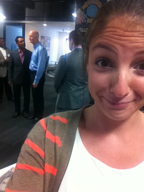 The time I took a selfie and Governor Rick Scott was in it. No big deal.
