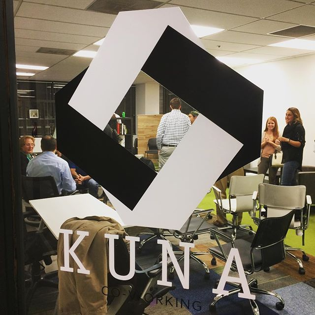 First. IN-CO Spaces meetup. ever. The mission is to better connect #JAX's coworking, incubator, and similar communities. Thanks to @kunacoworking for organizing and hosting!