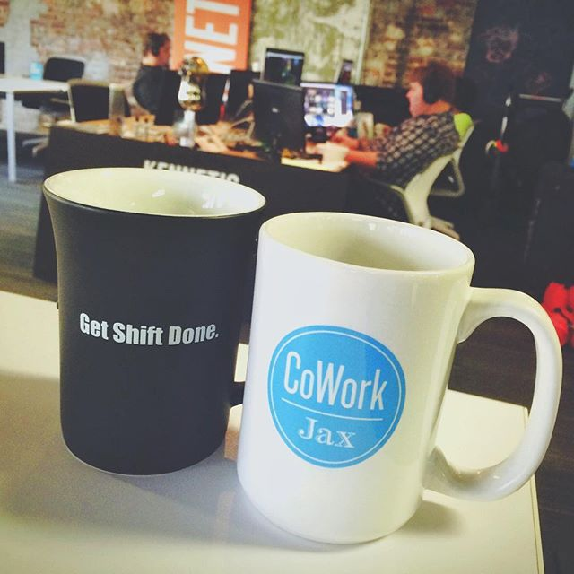 We loved our @theshiftchicago mug so much, we decided to get in the mug game ourselves!  Thanks to @holmesstamp for their amazing work!!
