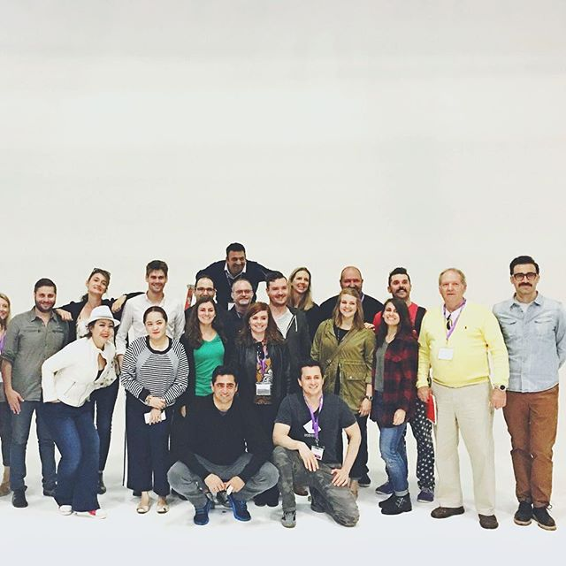 Our @gcuc_usa LA tour crew at @macksennettstudios! This place is rad! Photo by our very our @macisaguy!