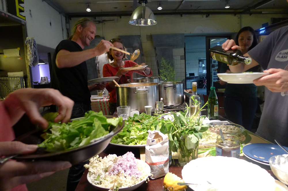 Workshop-Abendessen mit Slowfood Tirol