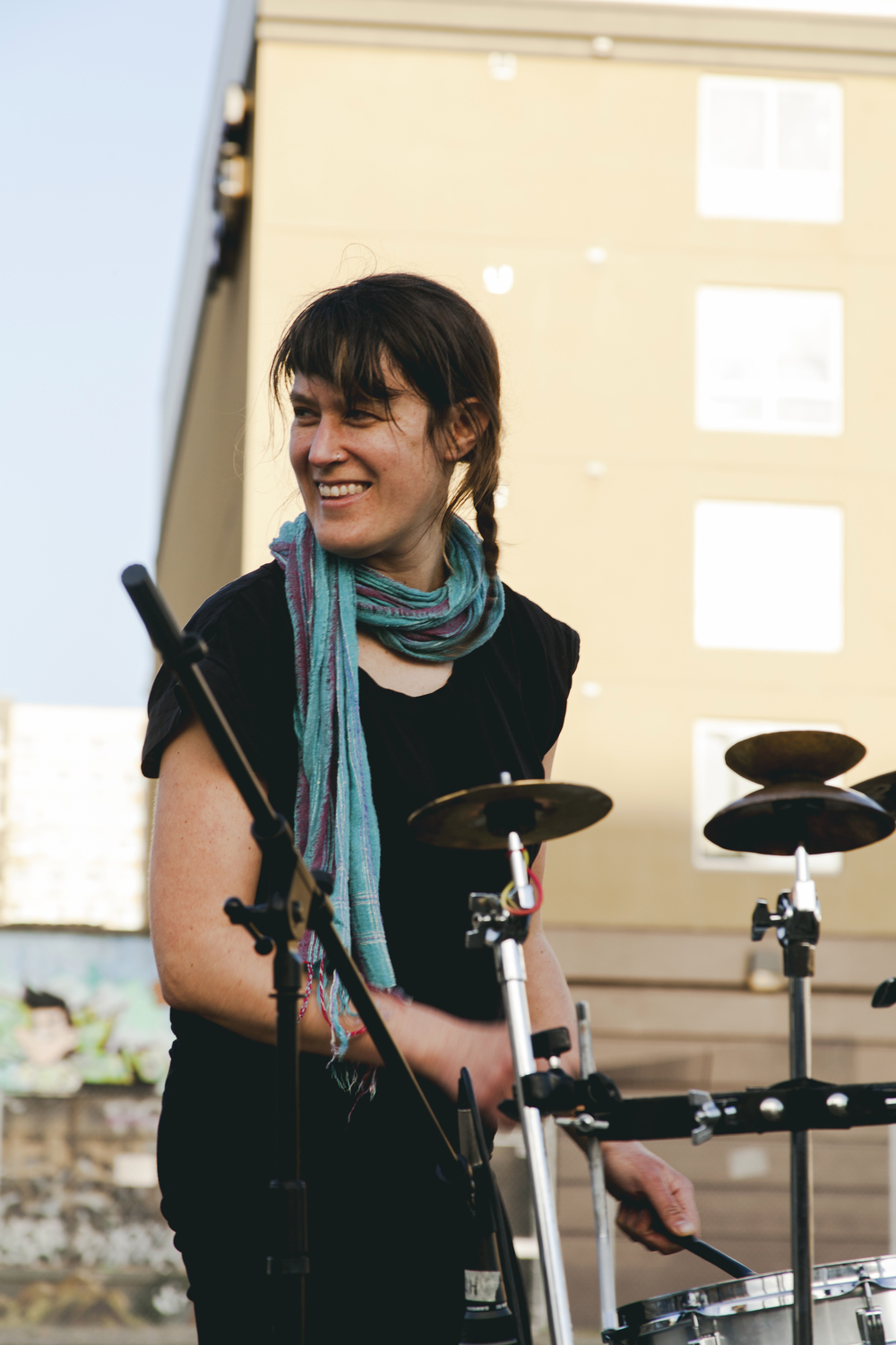 Musician, artist and natural historian, Lisa Schonberg plays for ALL RISE