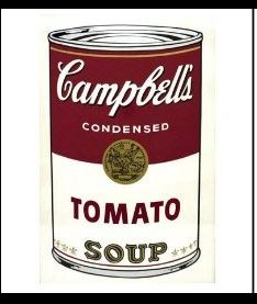 Yes, Andy Warhol, the visionary, once painted a tomato paste can :)