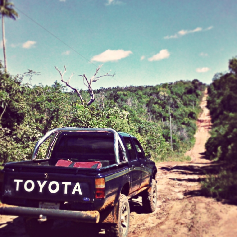 Along the rutted clay roads of the Paraguayan campo, with the medics of the Andrea Ritz Clinics.