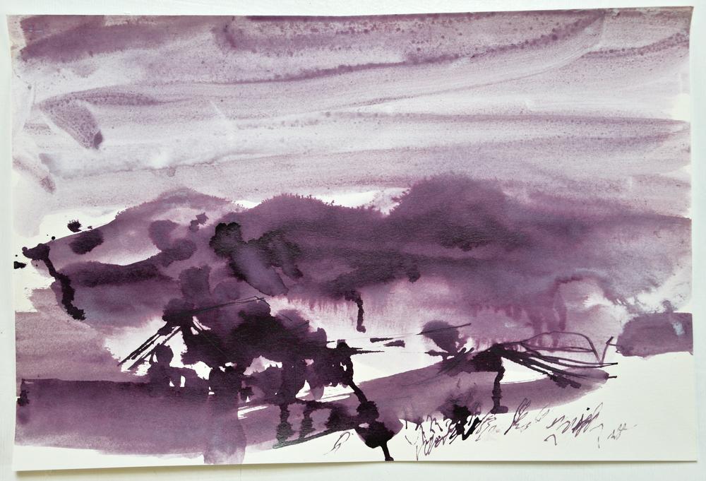 6.17.15 I  2015  ink on paper