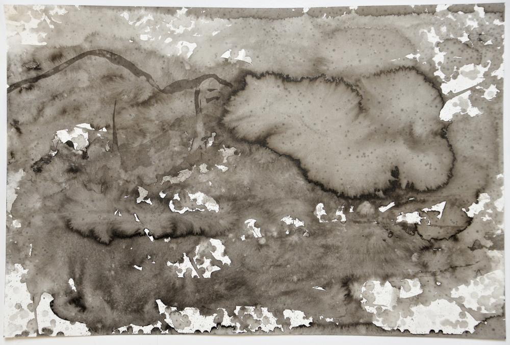 6.17.15 VI  2015  ink on paper