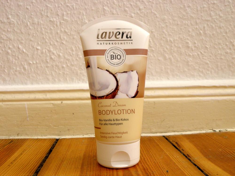 Lavera coconut moisturiser