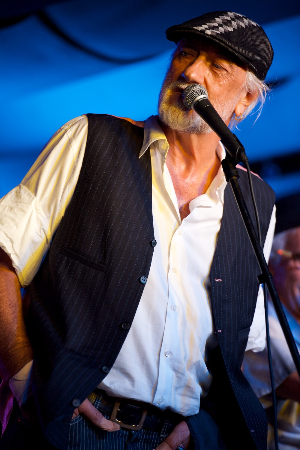 Only through Fleetwood's On Front St. can you obtain Mr. Mick Fleetwood to meet and greet your group.   Booking dependent on Mick's availability. Advanced inquiry required.