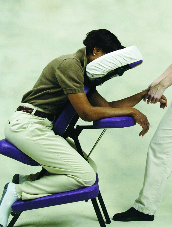 Chair massage Burlington VT