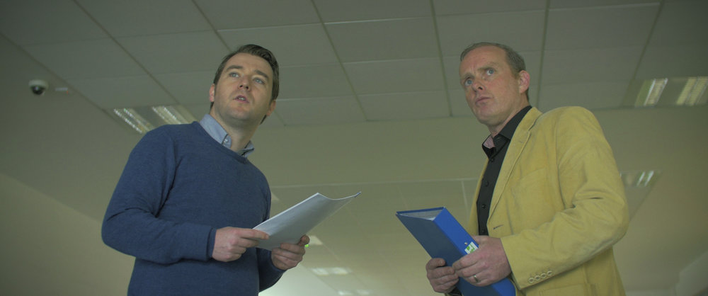John Morton and Ciaran McCauley in Locus of Control