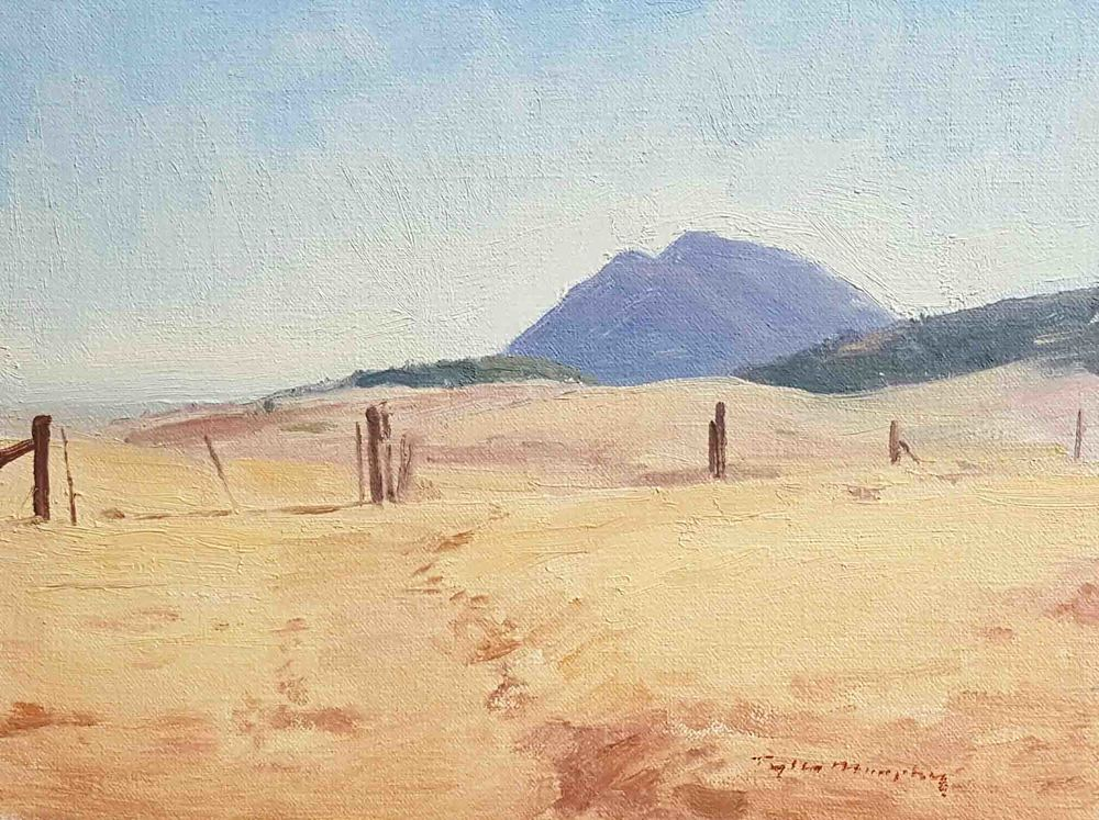 Cone Butte Ranch Study 9x12.jpg