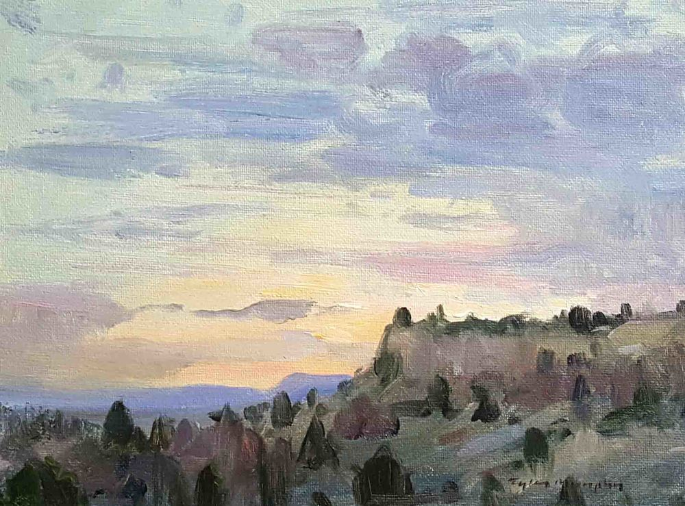 Rims Sunset Study 9x12.jpg