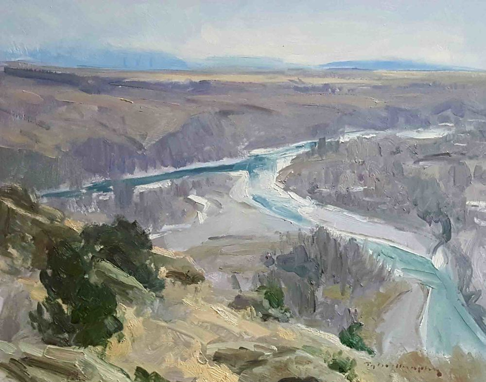 Overlooking the Yellowstone 11x14.jpg