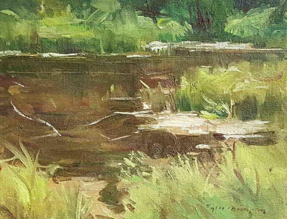 Pond Study 8x10.jpg
