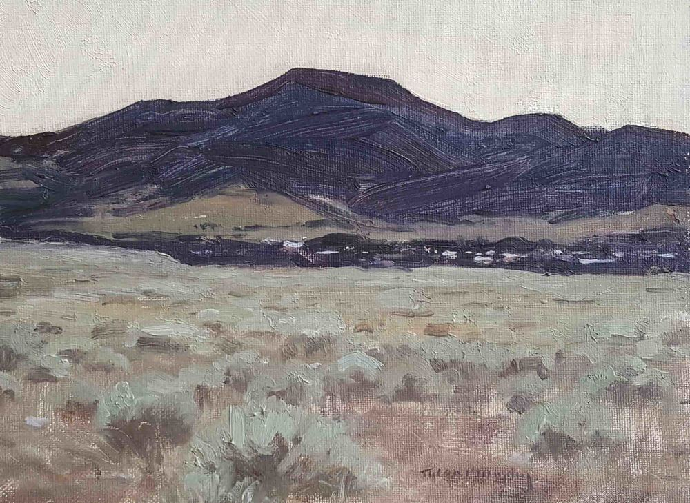 Red Lodge Mountain Study 9x12.jpg