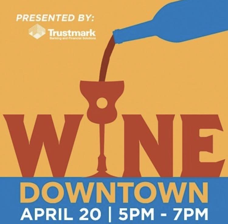 Promo Poster for Wine Downtown 2017