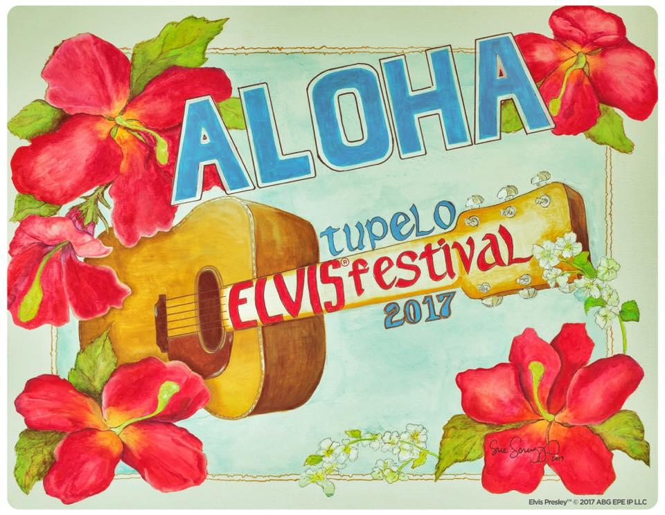 Promo Poster for Tupelo Elvis Festival 2017