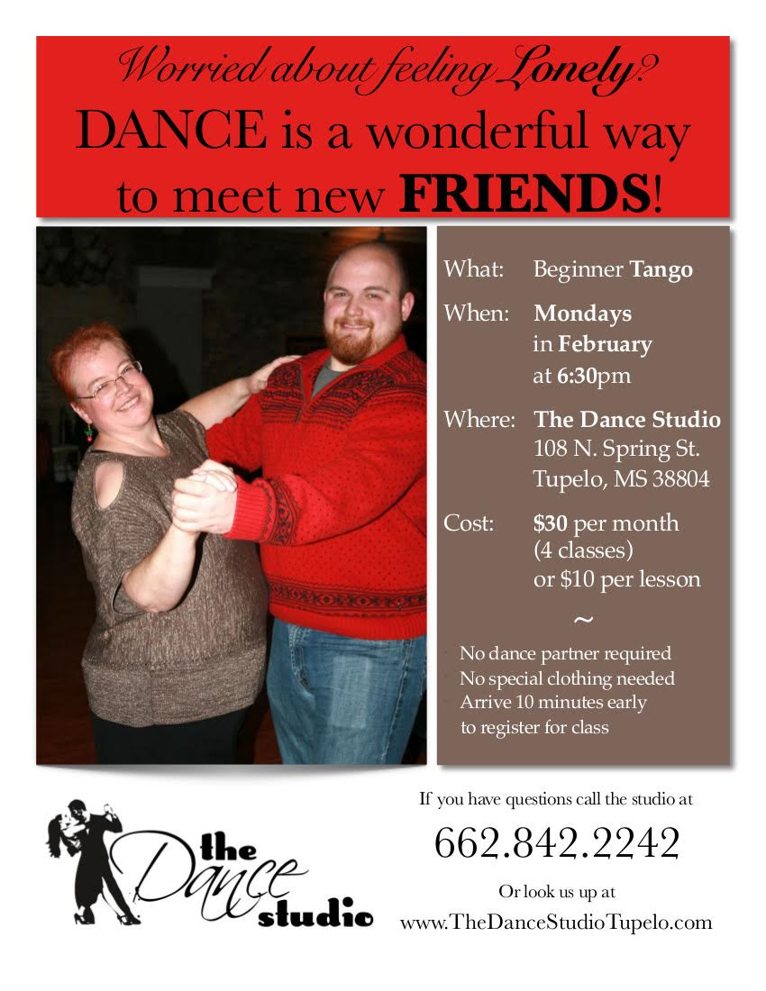 Beginner Tango at the Dance Studio