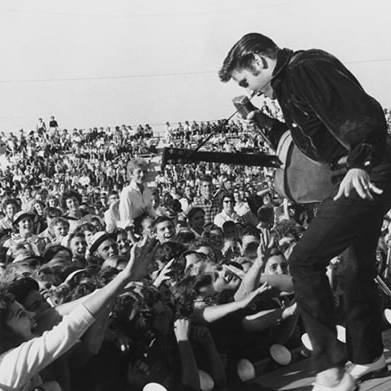 Elvis' Homecoming Concert in 1956 in what is now Fairpark