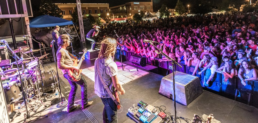 Tupelo Elvis Festival Fairpark Downtown Tupelo