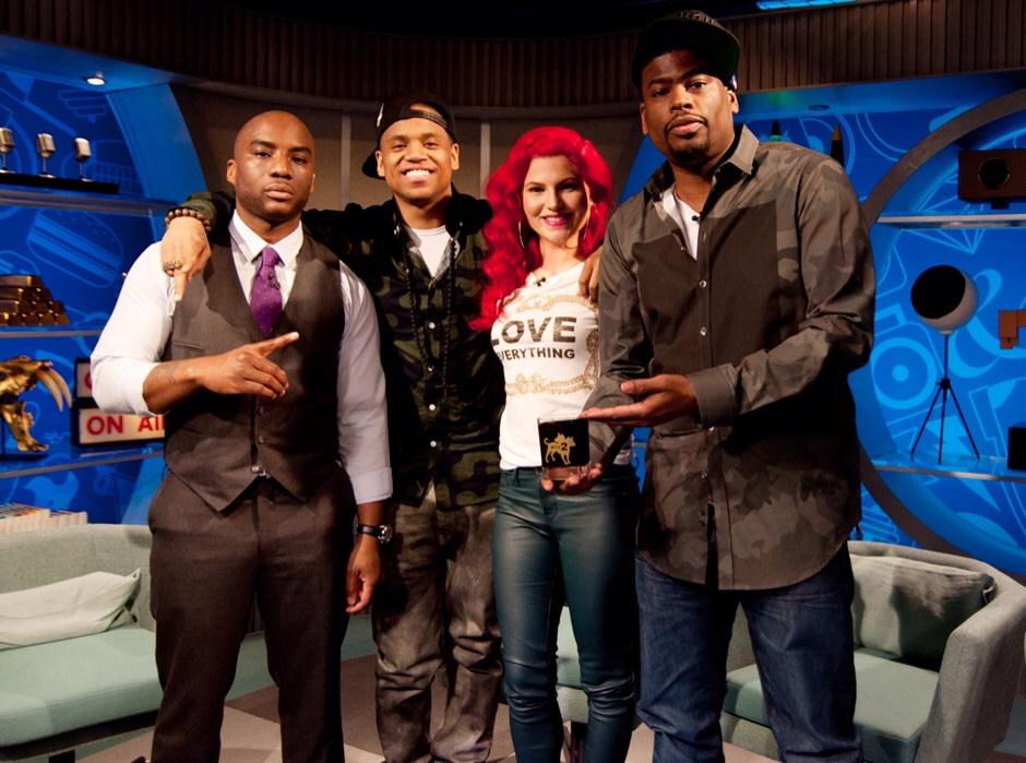 Charlamagne, Mack Wilds, Carly Aquilino, Damien Lemon