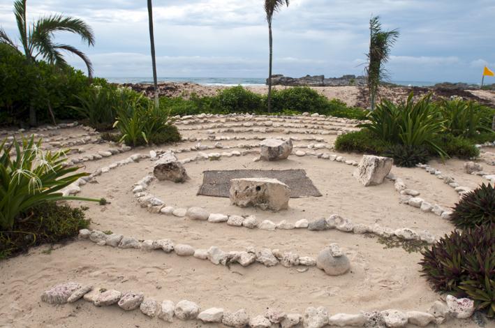 maya tulum labyrinth by the sea