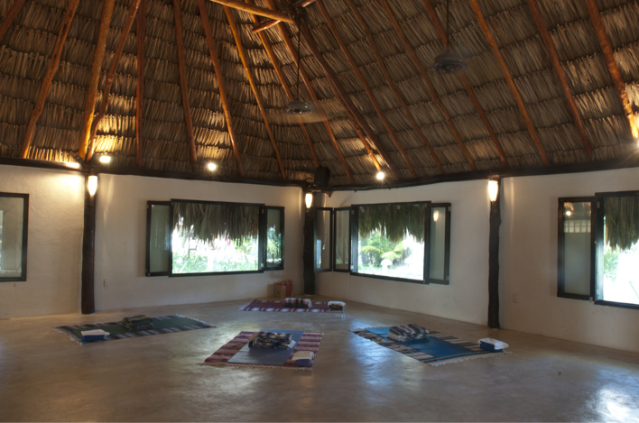 our yoga hall