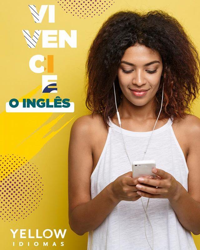 A prática é uma das melhores formas de fixar tudo o que foi estudado no inglês. Para isso, vivencie o inglês no seu dia a dia, seja através de músicas, filmes, séries, livros... todas as formas são válidas para o seu aprendizado e assim, quando você perceber, o inglês já fará parte de você.  Whatsapp: (81) 9 9284-5911  #yellowidiomas #englishschool #portodigial #recifeantigo