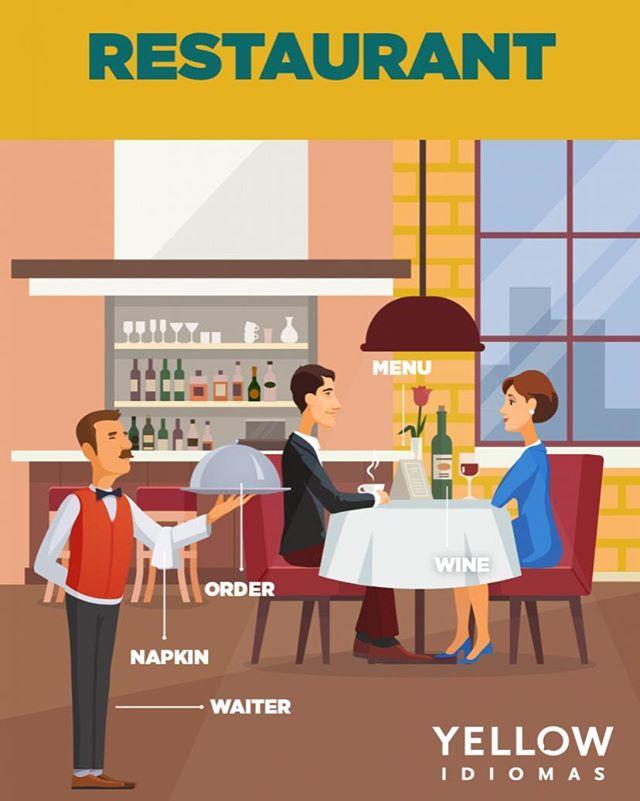 Precisa ir em um restaurante e não sabe como fazer o pedido? Separamos aqui algumas palavras que podem te ajudar nesses momentos. Vem para a Yellow e situações assim não serão mais problemas.