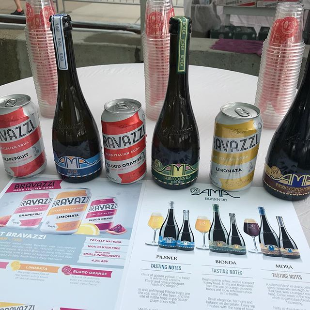 Ann Arbor Summer Festival teamed up with our friends @drinkbravazzi @birraamarcord @birra_ama #craftbeer #craftyimports