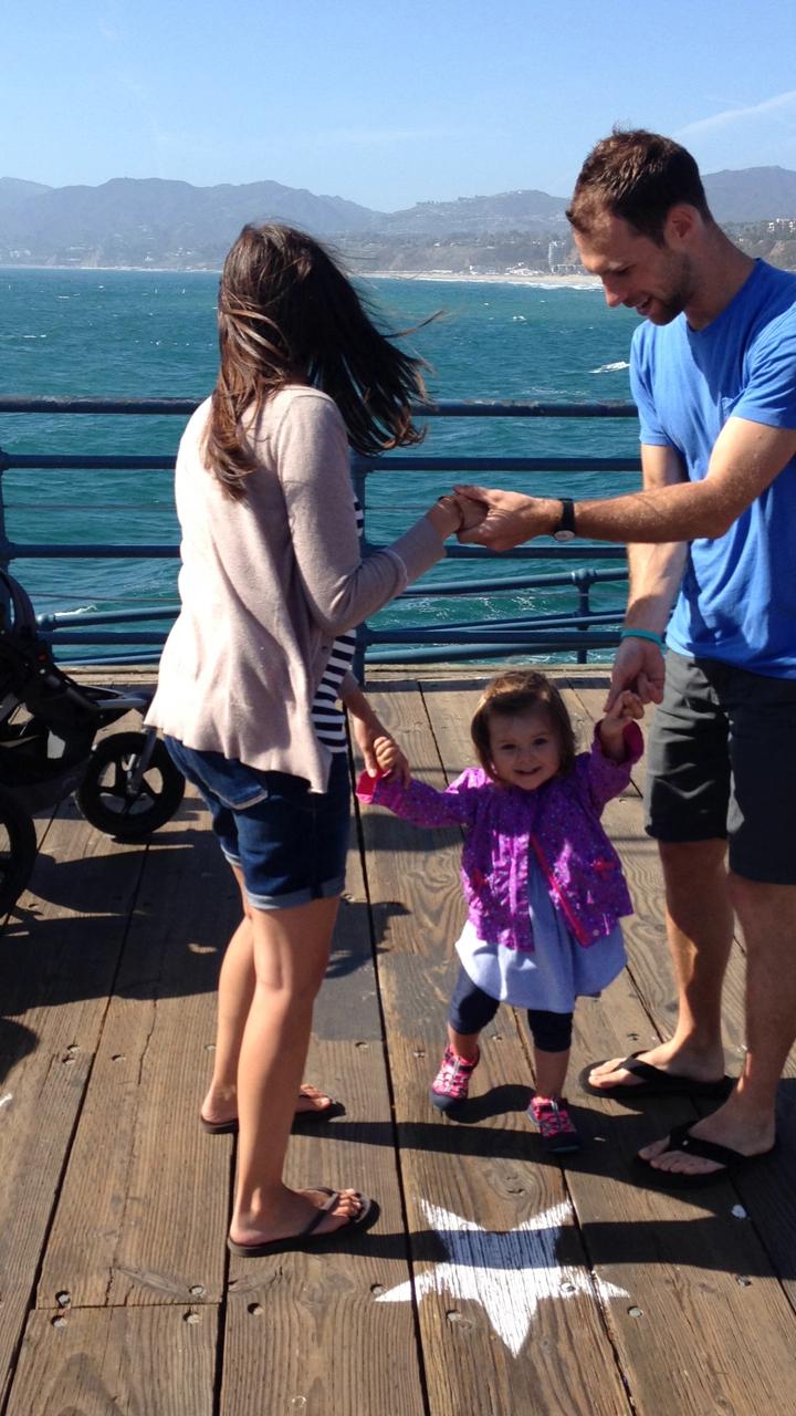 Joel + Jen are great parents!