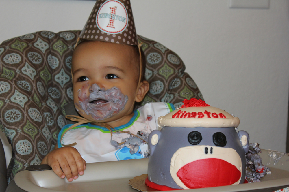 Kingston's 1st Birthday