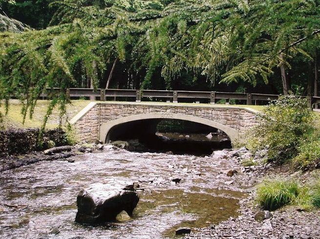Artists conception of Camp's new bridge