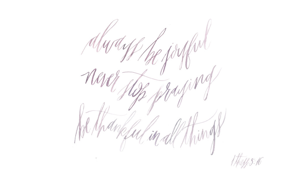 gracelne illustration + calligraphy