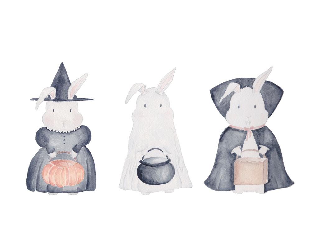 graceline haloween bunnies