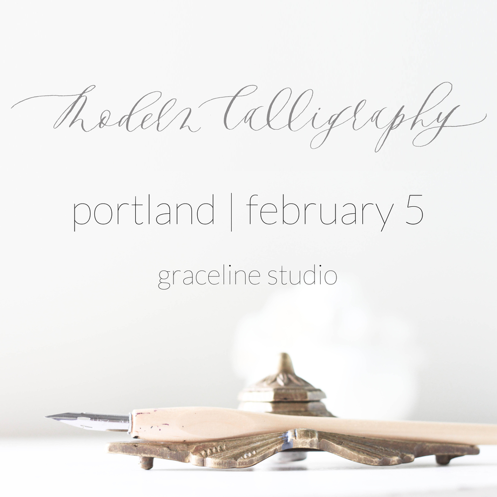 graceline | illustration + calligraphy