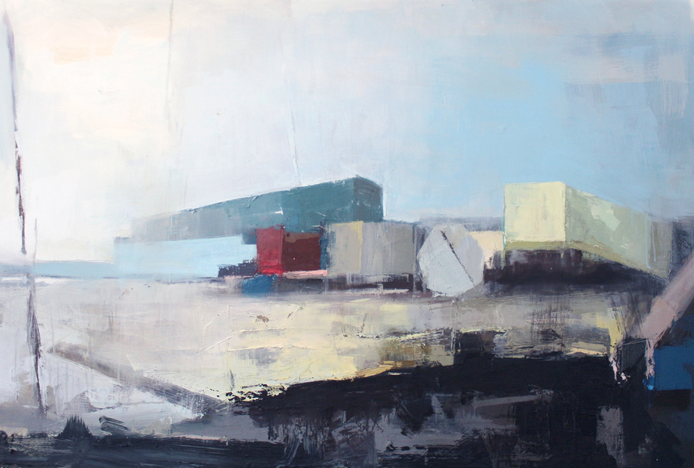 Roadside,  Oil on Canvas 2013