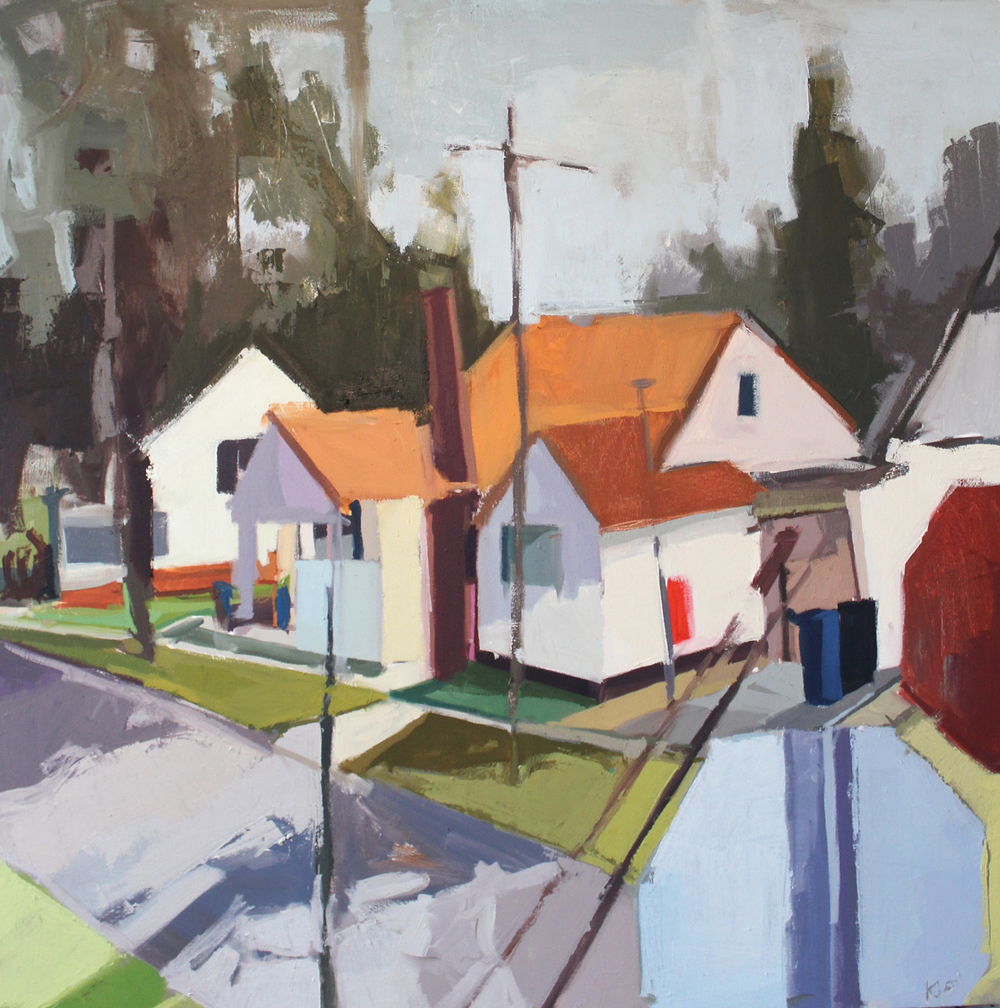 Place , Oil on Canvas 2014