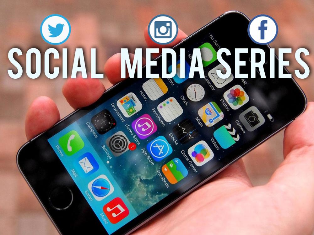 SOCIAL MEDIA SERIES   4 week series on social media