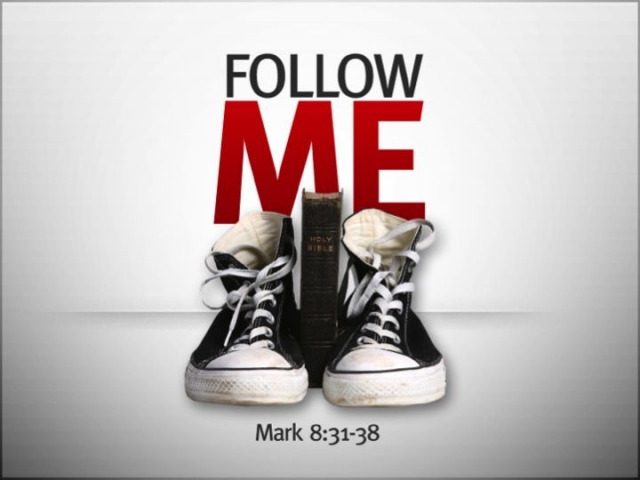 FOLLOW ME 6 week series to encourage your students to follow Jesus