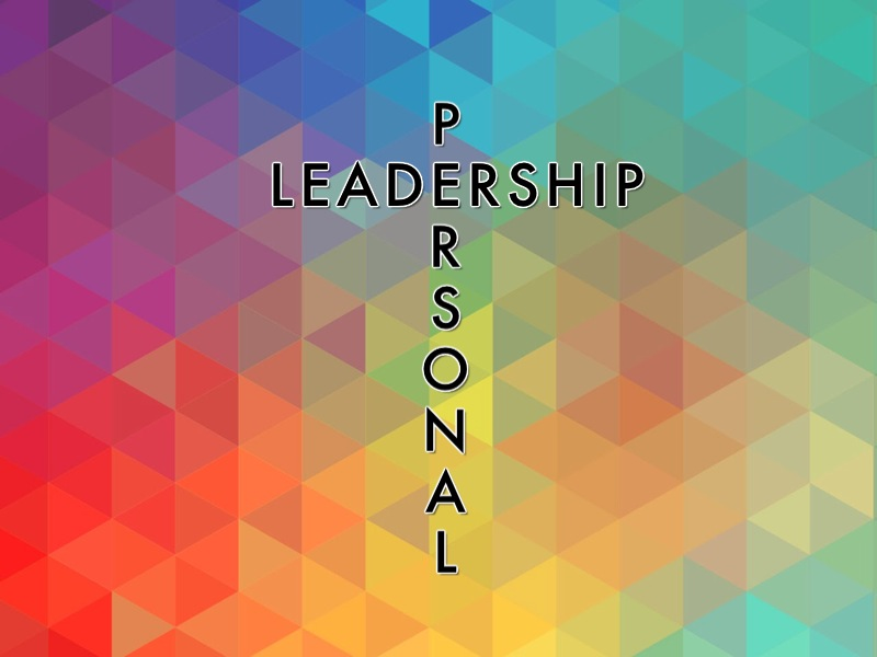 Personal Leadership Series 13 week study with outlines & worksheets