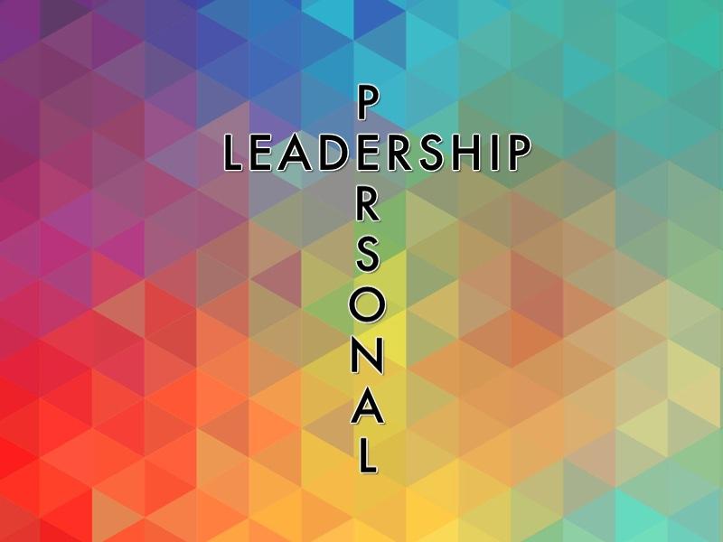 Personal Leadership Series 13 week study with outlines & worksheets
