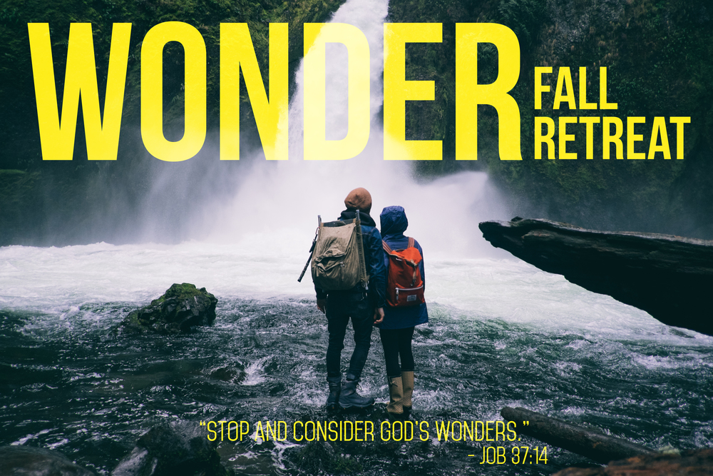 WONDER FALL RETREAT   Retreat package