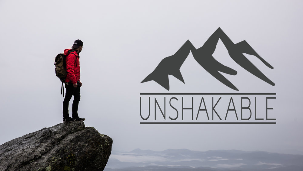 Unshakable Series - A four week series to teach your students how to live unshakable in a crazy world*Click here to download teaching notes only*