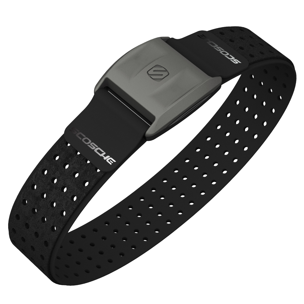 The New Scosche Rhythm+ Armband Heart Rate Monitor for ANT+ and Bluetooth Smart devices