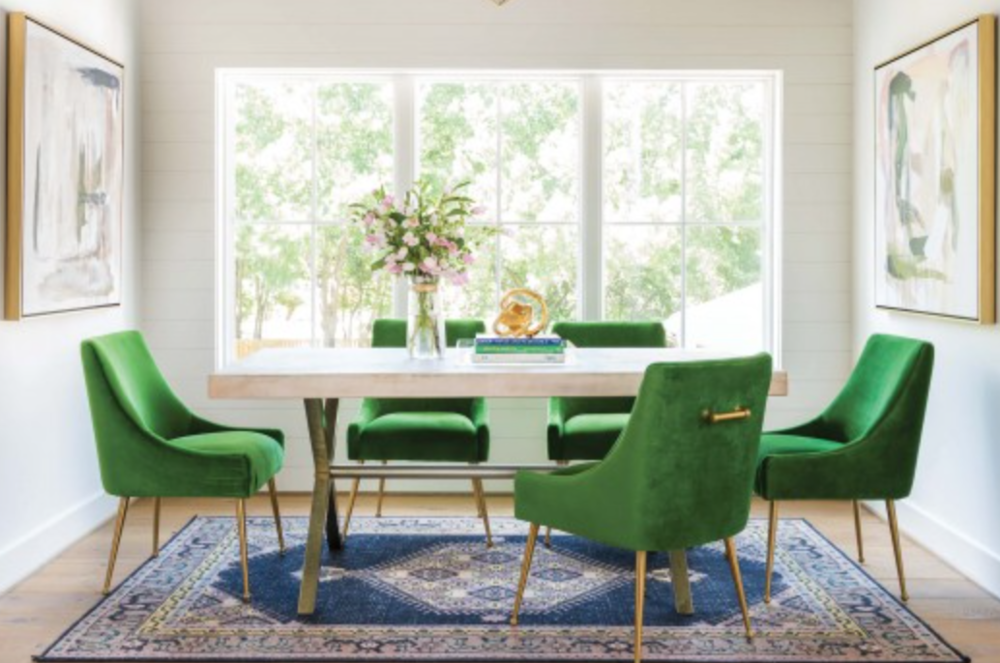 Beatrix Side Chair - These chairs are super cute, I actually like them as office chairs but perfect for any space.