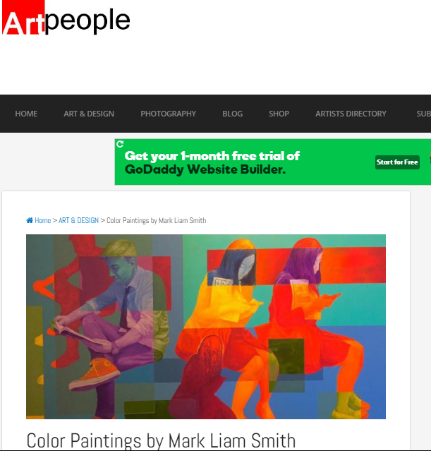 Feature with Art People magazine