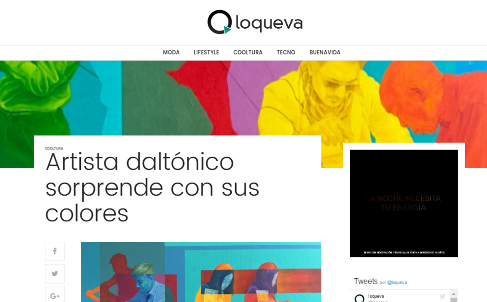 Feature in Loqueva