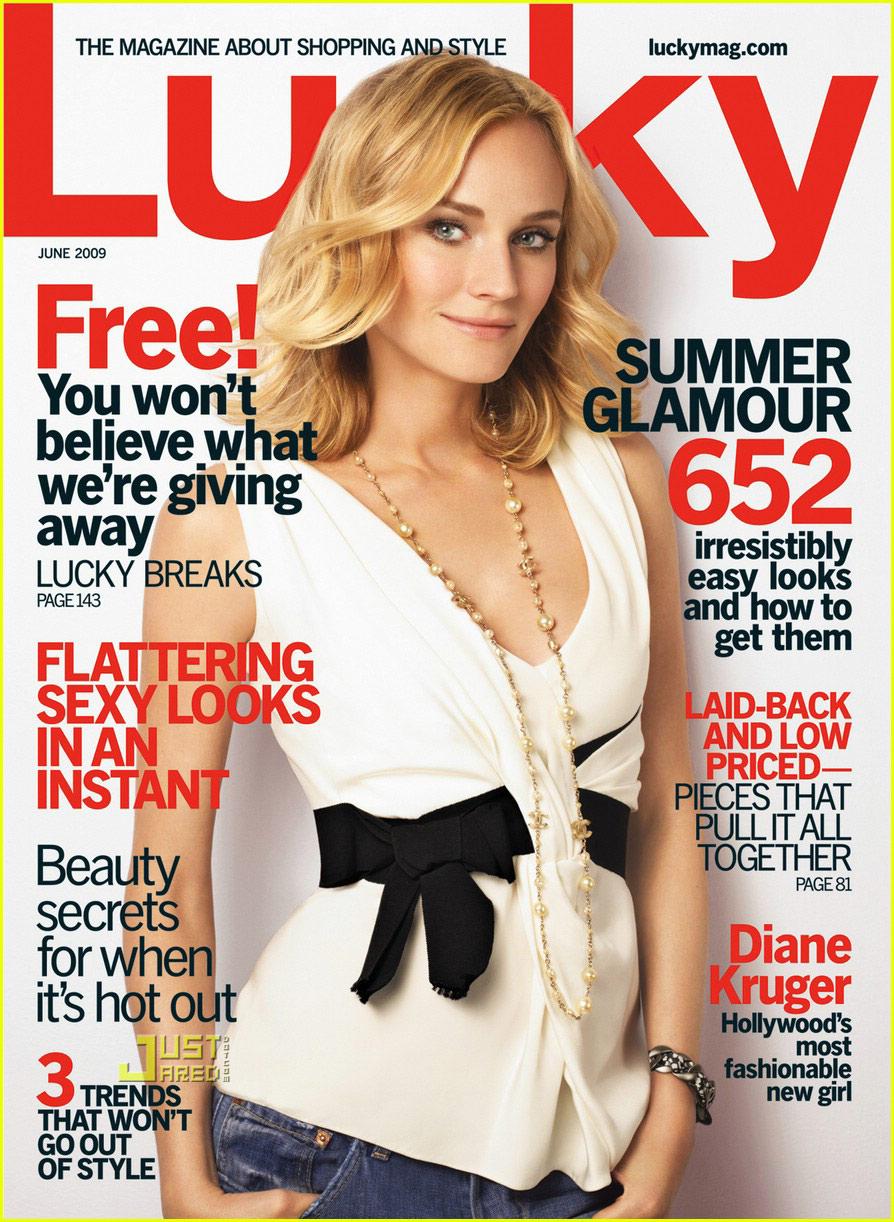 Lucky, June 2009